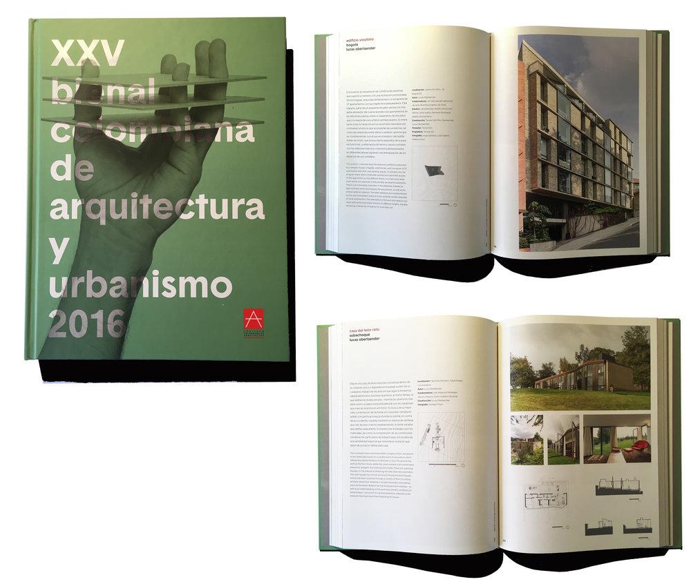 Edificio Vinotinto y Casa del león roto, XXV Bienal Colombiana de Arquitectura   2016