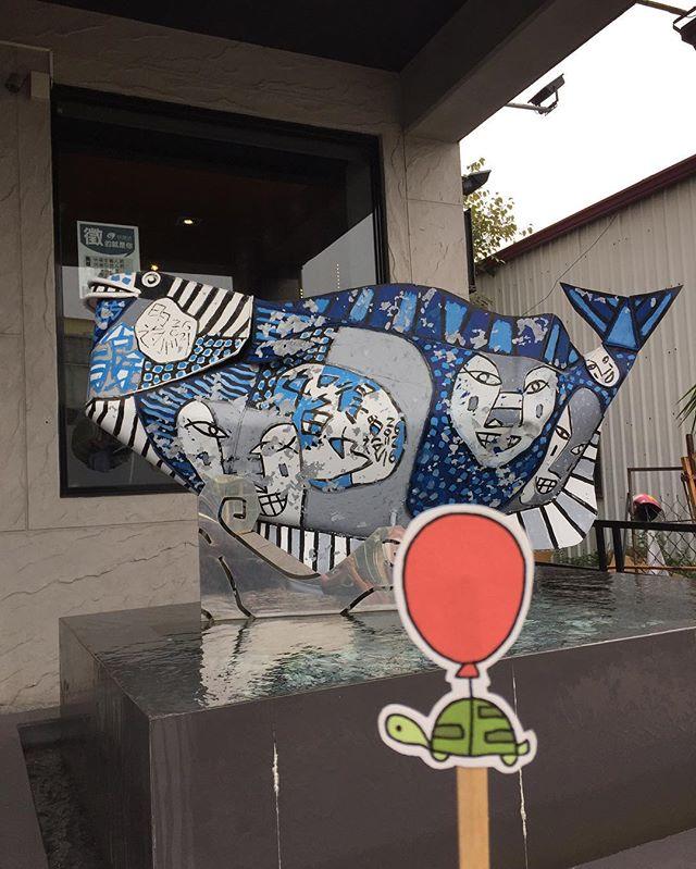 big ol fish  大隻魚🐟 #oaklets #littleoakletstraveltheworld