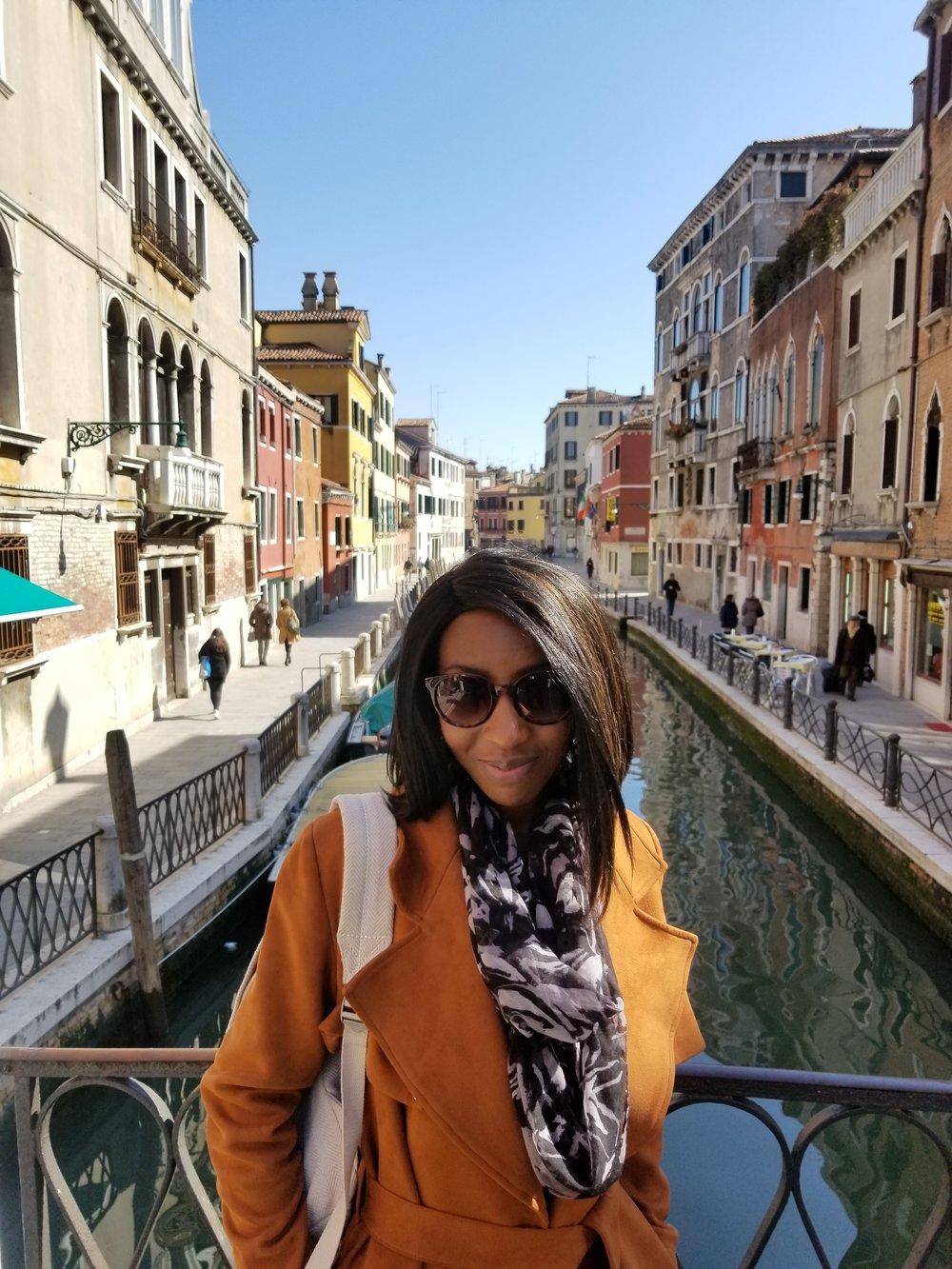 In beautiful Venice, Italy