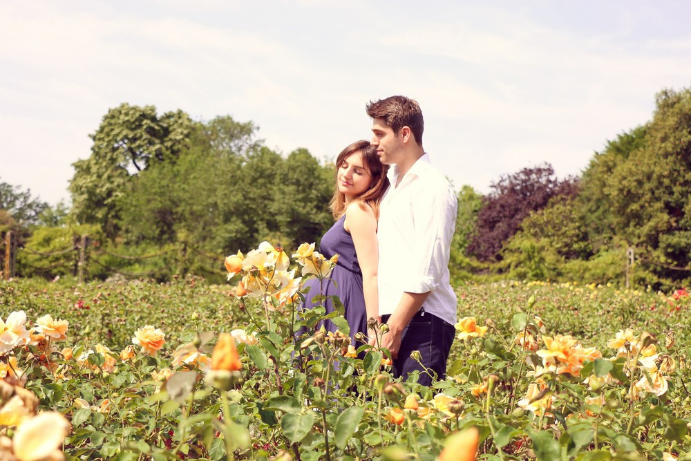 Couple session in Regents Park