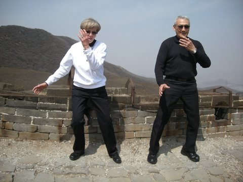 Bobby and Andy Anderson, Wall of China