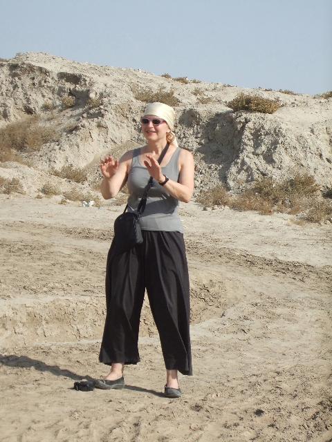 Laurie Jacobi, Otrar, Kazakhstan