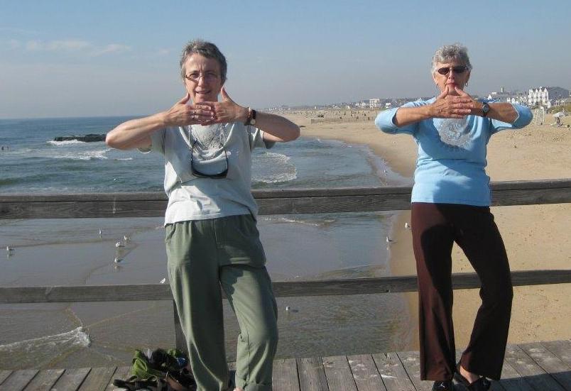 Sheila Leonard & Lois Servon, Ocean Grove, NJ