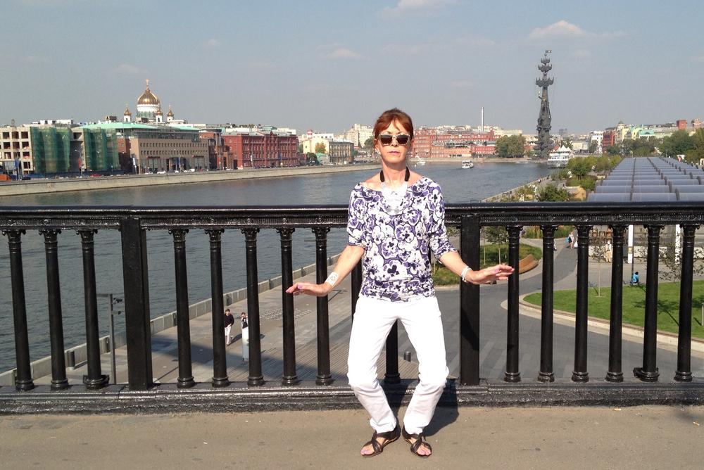 Carolyn Perkins, Moscow, Russia
