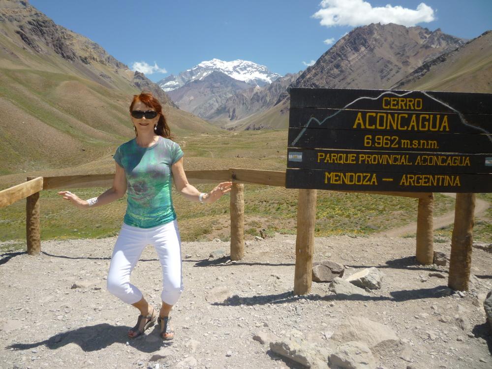 Carolyn Perkins, Andes Border, Chile & Argentina