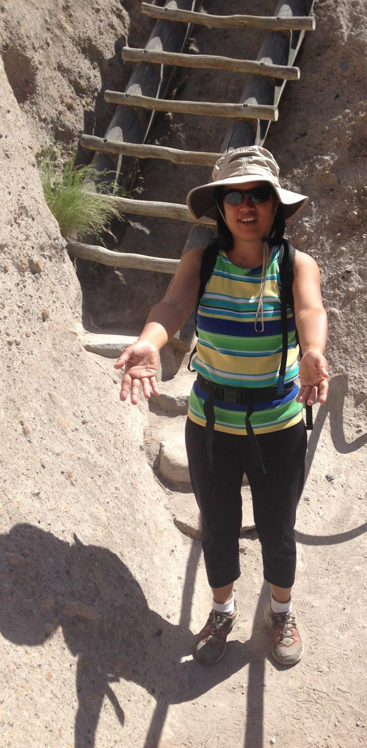 Pauline Quimson, Bandelier National Monument, NM