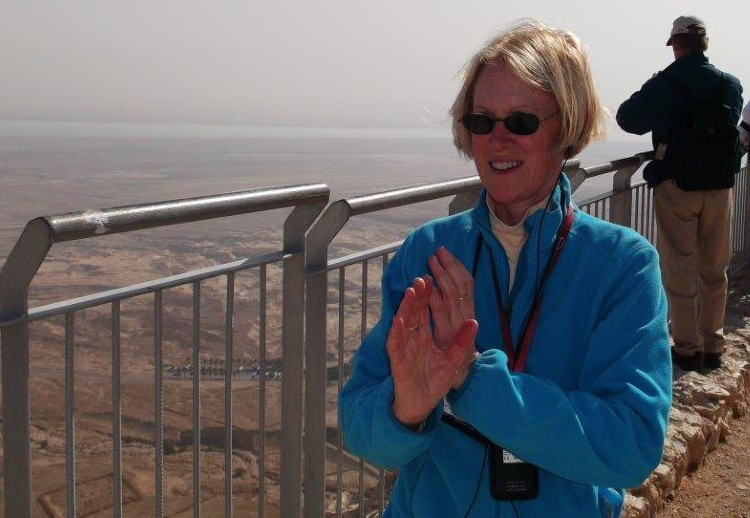 Deborah Massey, Masada, Israel