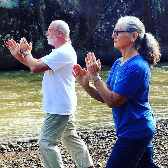 "Where in the world? ""Daughter on the Mountain Top"" in Costa Rica. .... #taichichih #tcc #joy #mindful #movingmeditation #justinstone #minimalisim #taichi #qigong #movement #meditation #mindbody #grounded #health #gratitude #happylife"
