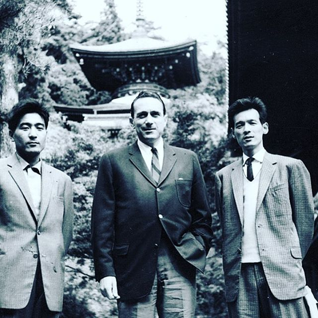 T'ai Chi Chih's fearless originator, Justin Stone in Kyoto in the 1969s.... #taichichih #tcc #joy #mindful #movingmeditation #justinstone #minimalisim #taichi #qigong #movement #meditation #mindbody #grounded #health #gratitude #happylife