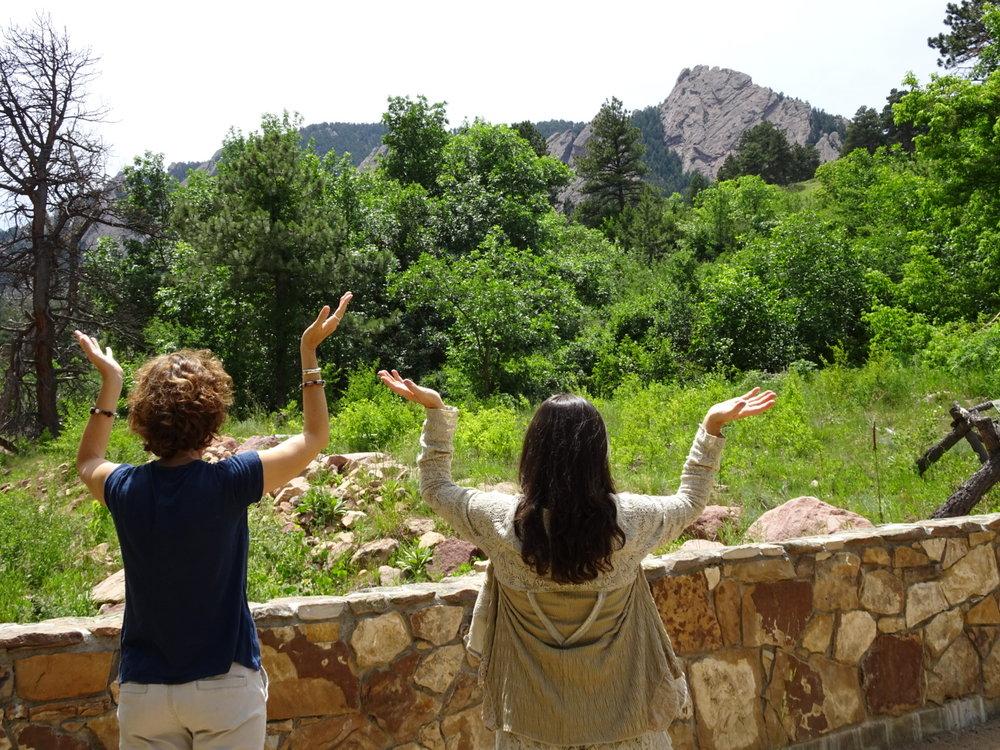 April Leffler & Caroline Guilott, Boulder, CO