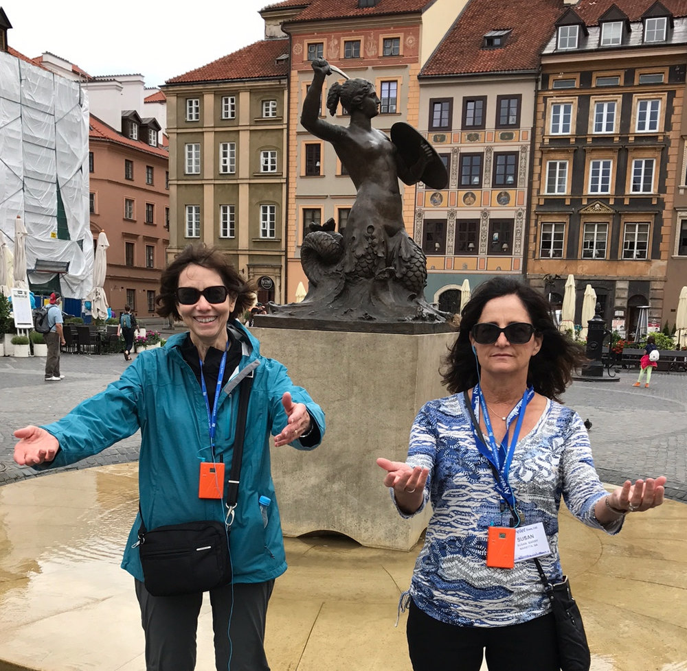 Merle Smith & Susan Barry, Warsaw, Poland