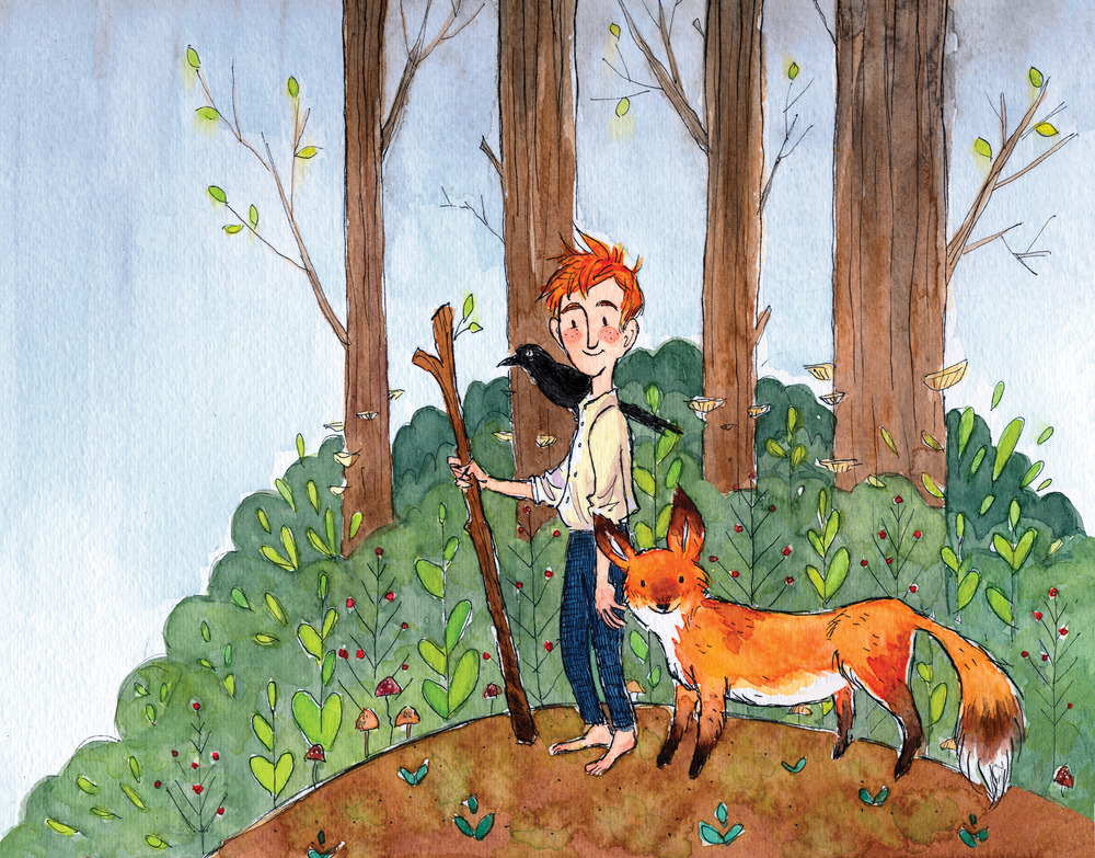 Boy and his Fox.jpg
