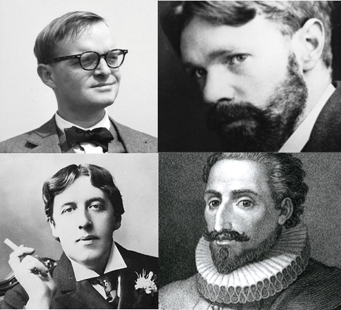 Truman Capote, DH Lawrence, Cervantes and Oscar Wild