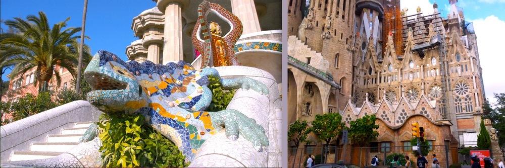 Parc Guell & Sagrada Familia