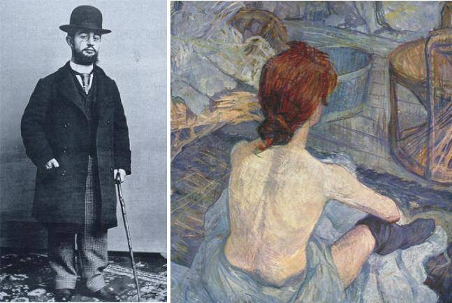 Henri Toulouse-Lautrec, La Toilette, oil on board 1896