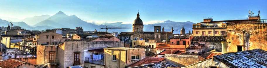 Rooftops of Palermo