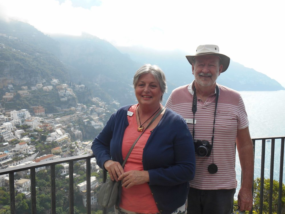 Out and about - a photo stop on the Amalfi Coast