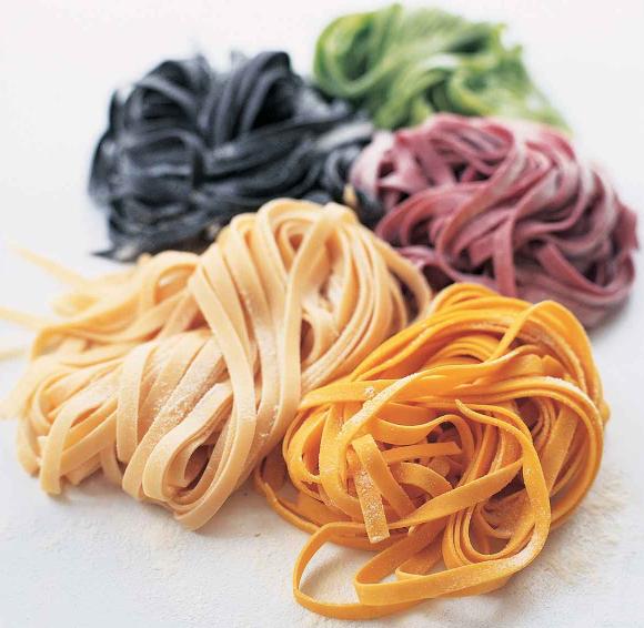 Fresh Pasta - Colour is important