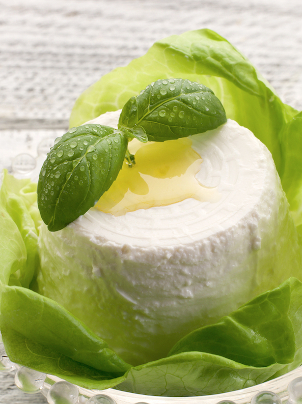 Ricotta, a by-product of other cheese, can be eaten just like it is, or cooked in many cakes and savory dishes