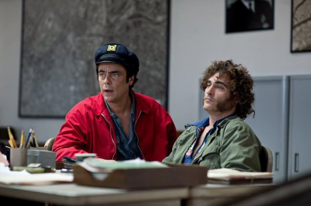INHERENT VICE  A film that's as stoned as its lead. Confounding storytelling mixed with massive laughs.