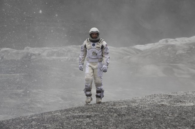 INTERSTELLAR  One of the most powerful films I'veseen. Gigantic, rawambition meets technical wizardry. A film too enormousfor 14 words, and a film that demands to be seen onthe largest screen withthe biggest soundimaginable. An all-consuming, sensory-blasting cinematic marvel.