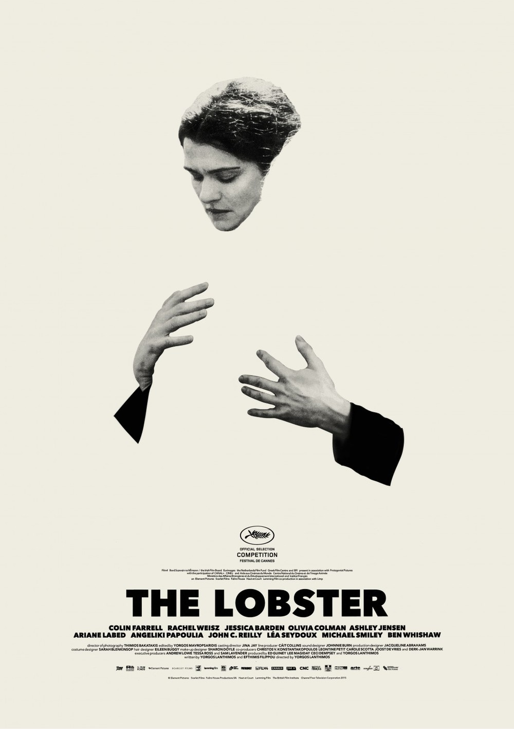I absolutely adore all three posters for The Lobster. This and its companion are beautifully-conceived and executed, saying so much and saying it interestingly. The third one is different, but gorgeous in its own way.