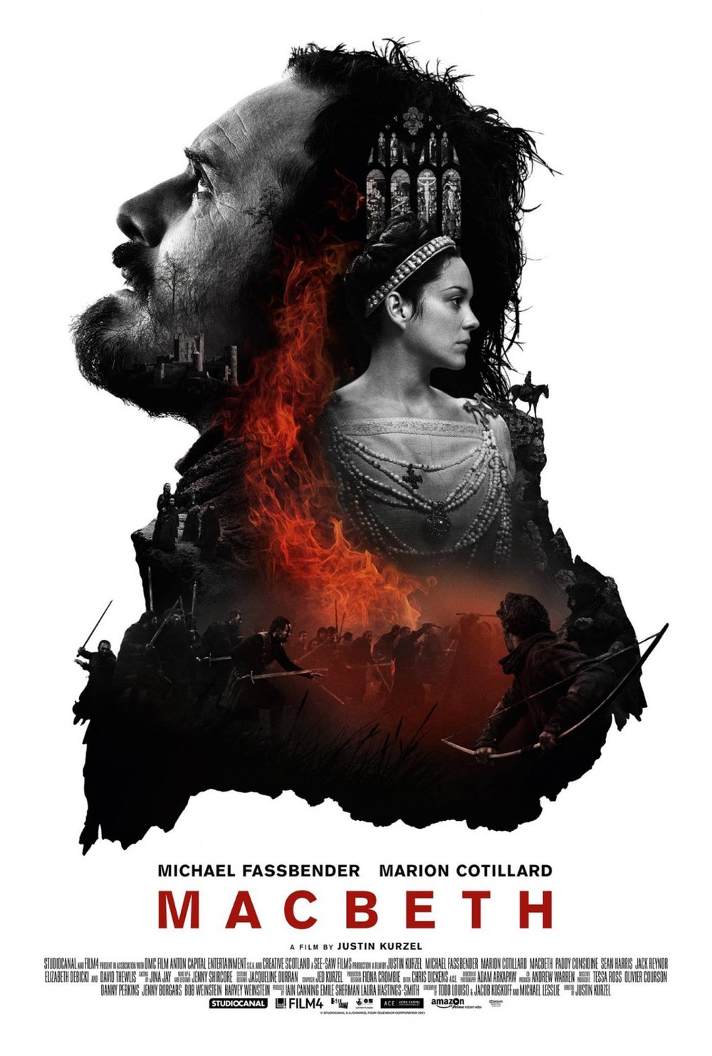 The Macbeth one-sheet is a great example of the big floating head school of poster design. I love how all of the elements blend together, and the stark use of color is really nice.