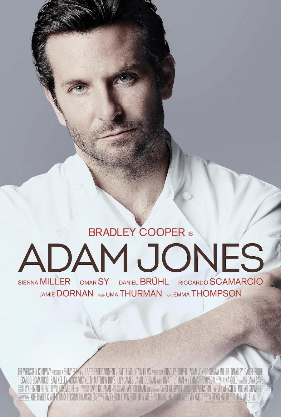 Bradley Cooper is: Some Chef Guy With a Boring-Ass Name. Thankfully they changed the title of this film to something a little less boring, but damn can you really think of no better way to advertise your movie than this boring garbage?