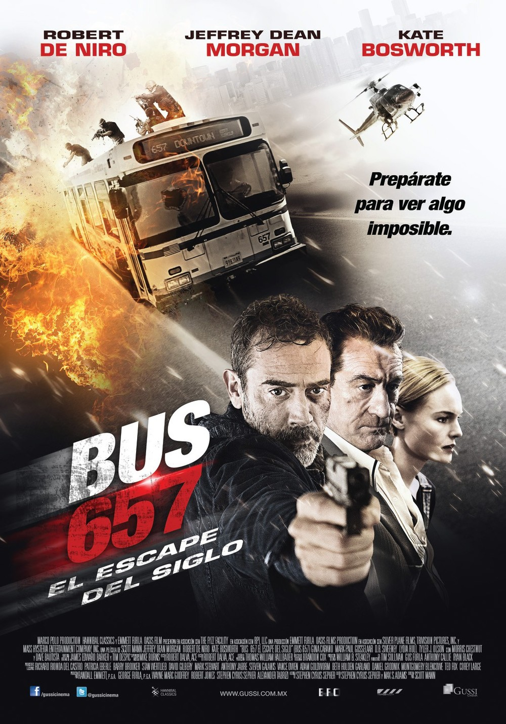 Here's another shitty movie whose title changed at some point during the advertising process. Right here it's Bus 657. A bad name for all intents and purposes.