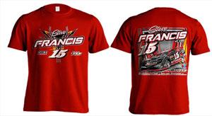 2016 Steve Francis t-shirt