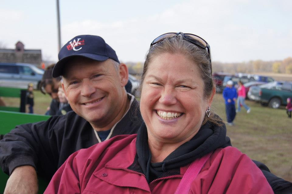 Pictured above: Bill with wife, Sheri