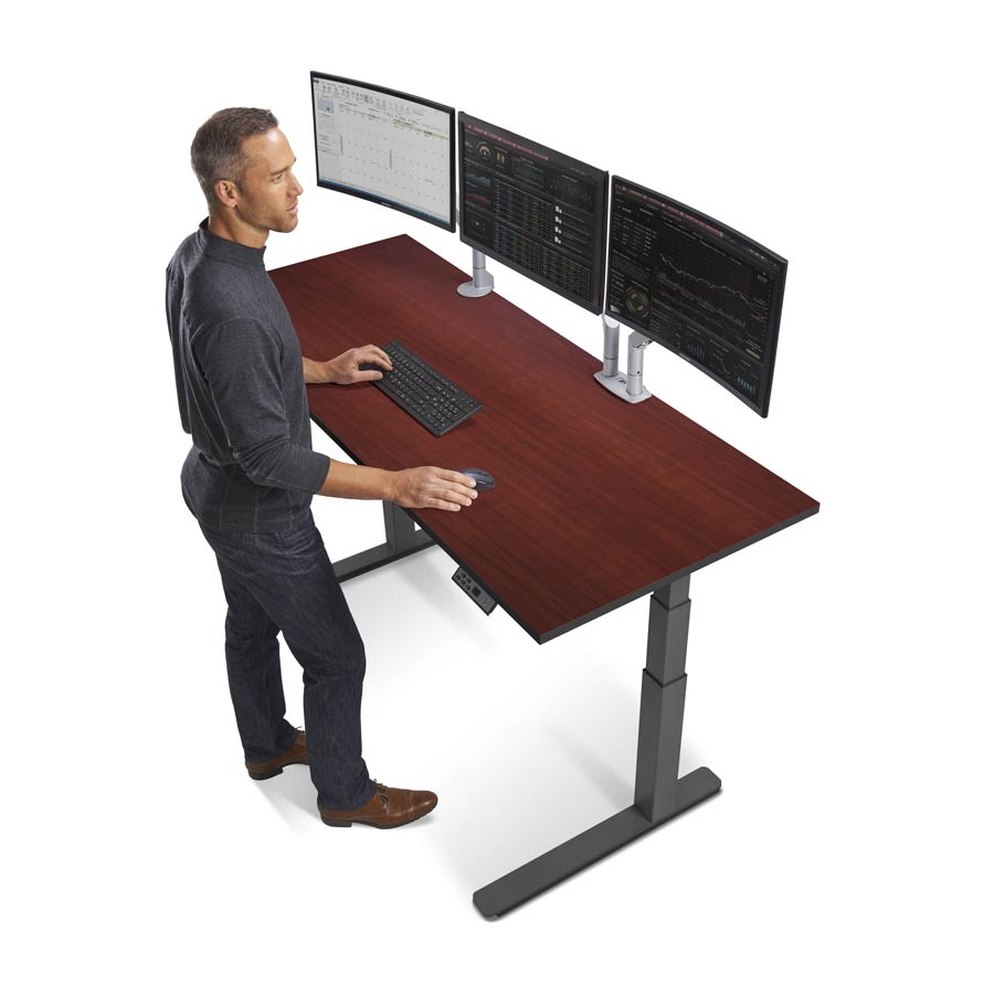 "CHARC. BASE, 72"" W. X 29"" D. DESKTOP WILD CHERRY"