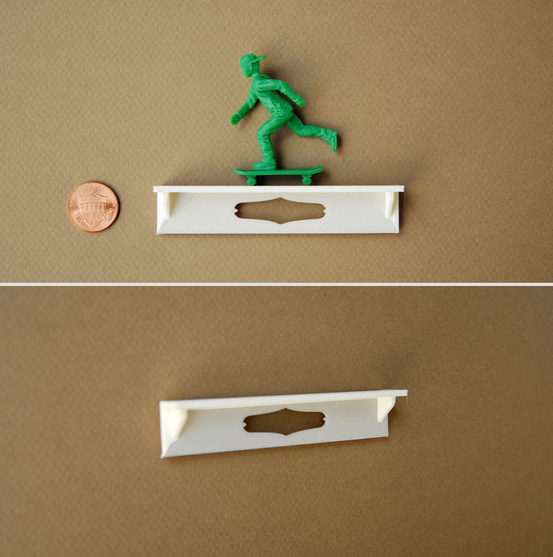 Mini Shelf for Crankbunny Paper Puppet Dolls and Toys by Crankbunny.