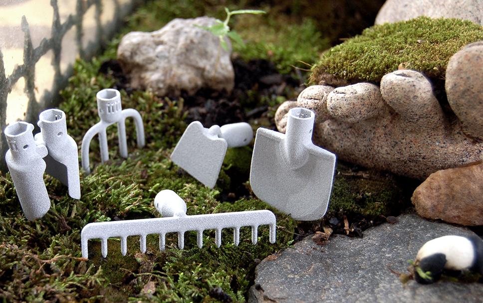 Things we love 3d printed desktop gardening tools for Garden design 3d tools