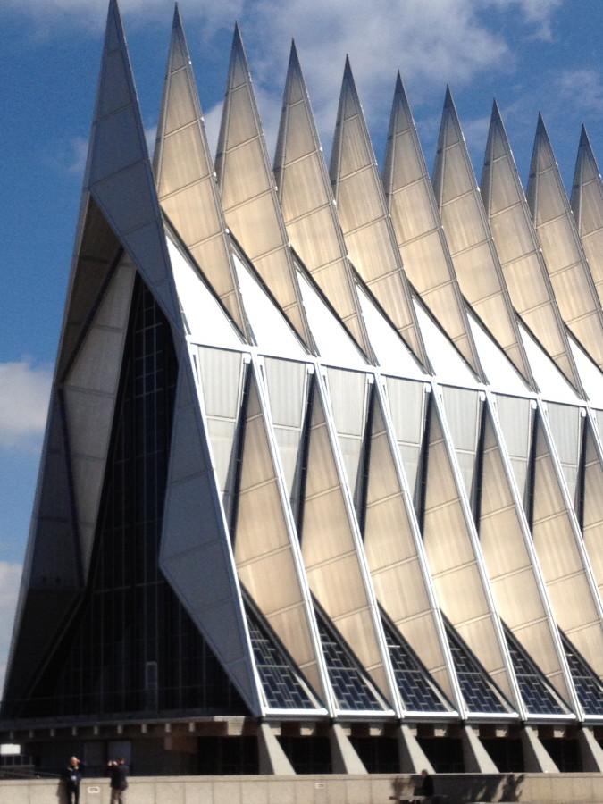 US Air Force Academy Cadet Chapel - exterior