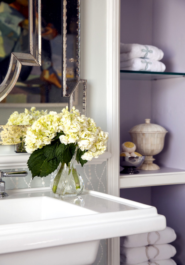 BATHROOM SINK & LINEN CABINETS