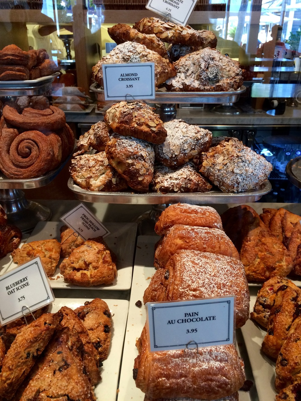 A bakery in Paris? No! Larkspur's Rustic Bakery & Cafe.