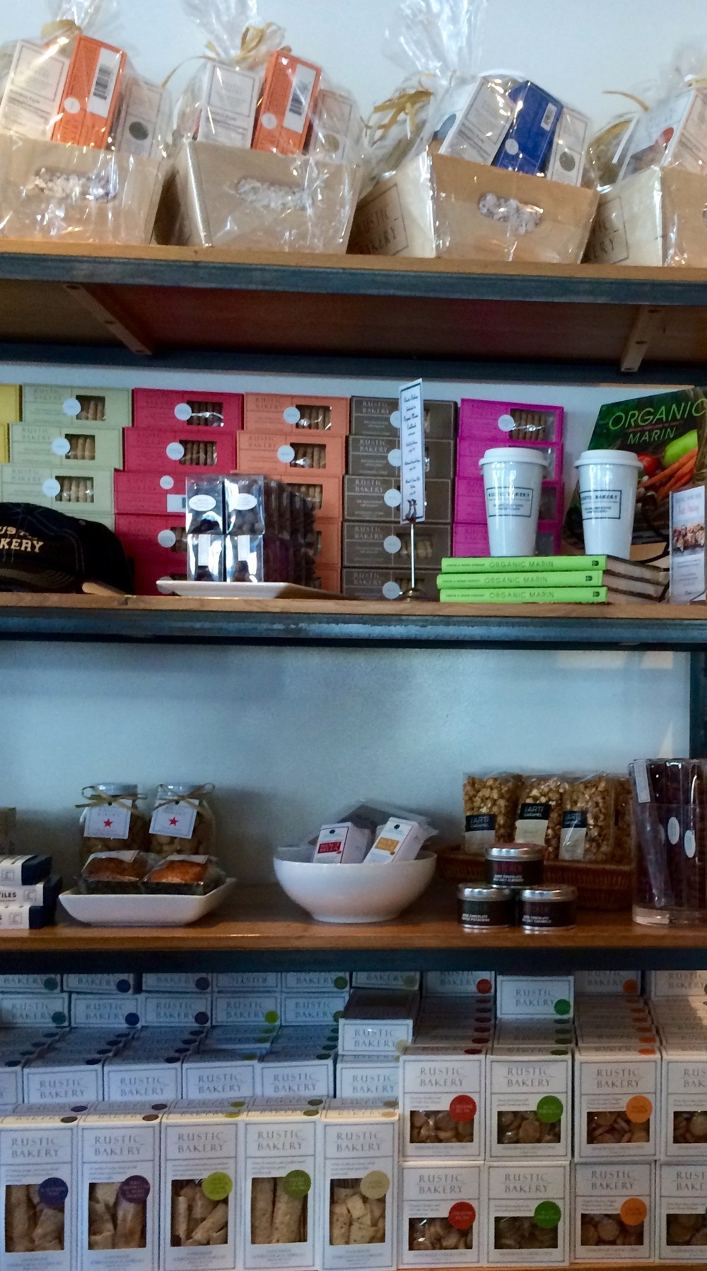 Rustic Bakery's amazing packaged cracker, cookies and more.....