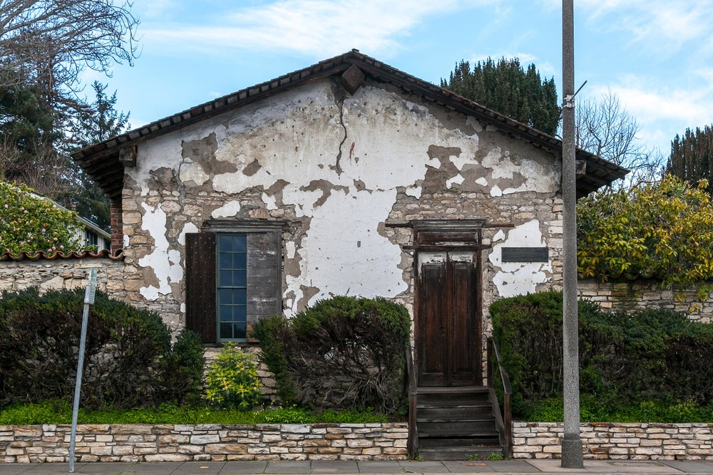 One of the historic adobes in Old Town Monterey