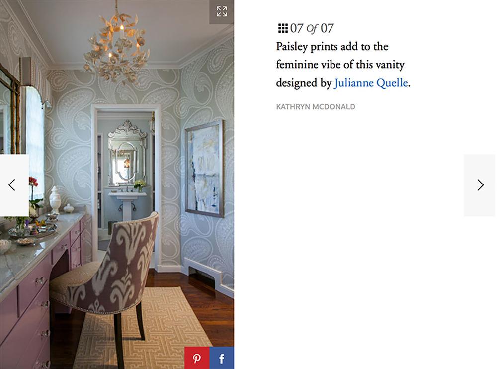 Dering Hall feature in Elle Decor Online!