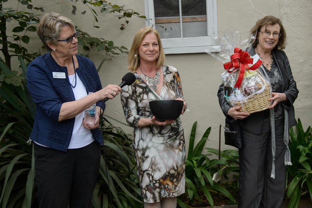 The Carmel Chamber of Commerce held a raffle of a tasty gift basket.                                                                                                                                       Photo by DMT Imaging