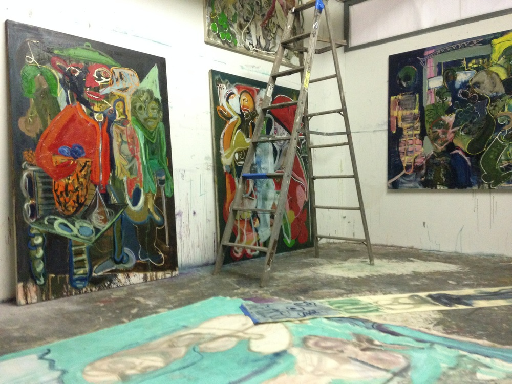 Summer St Studio  June 2015