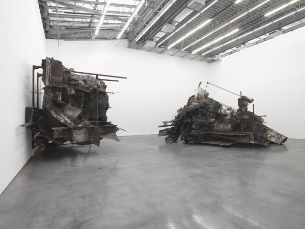 Peter Buggenhout, Caterpillar Logic II at Gladstone Gallery, New York