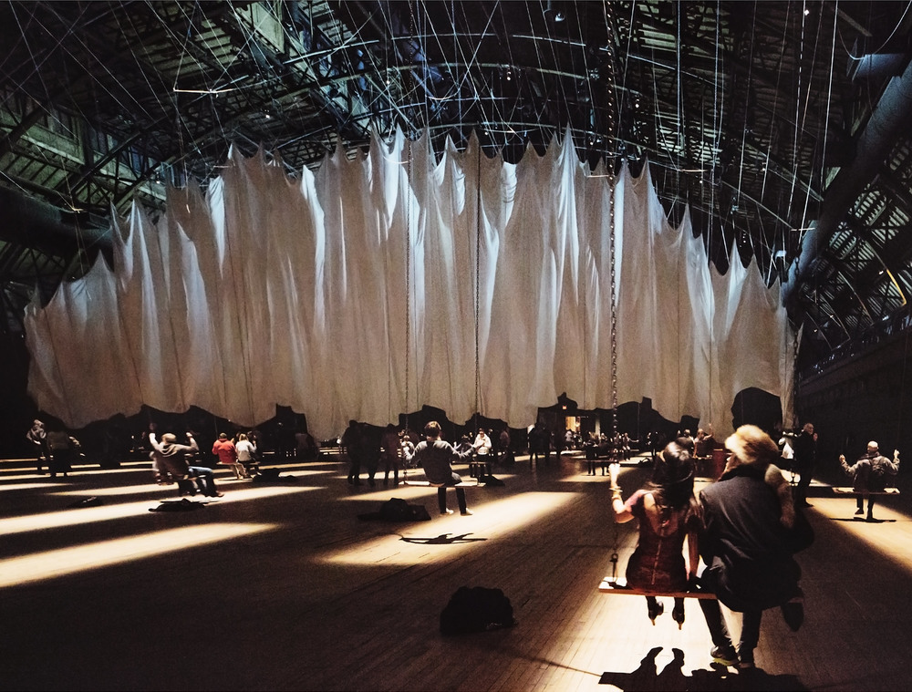 Ann Hamilton: the event of a thread  Park Armory, NYC