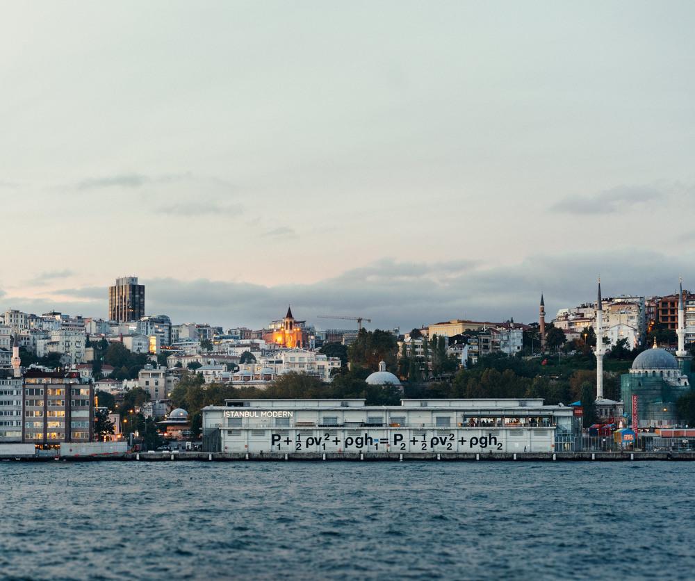 Liam Gillick, Hydronamica Applied  (2015)  Istanbul Biennial  Istanbul Modern