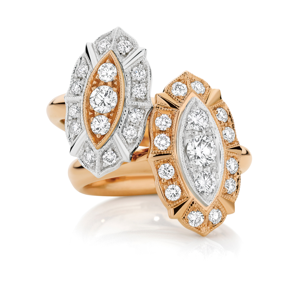 Trousseau Diamond Engagement Rings
