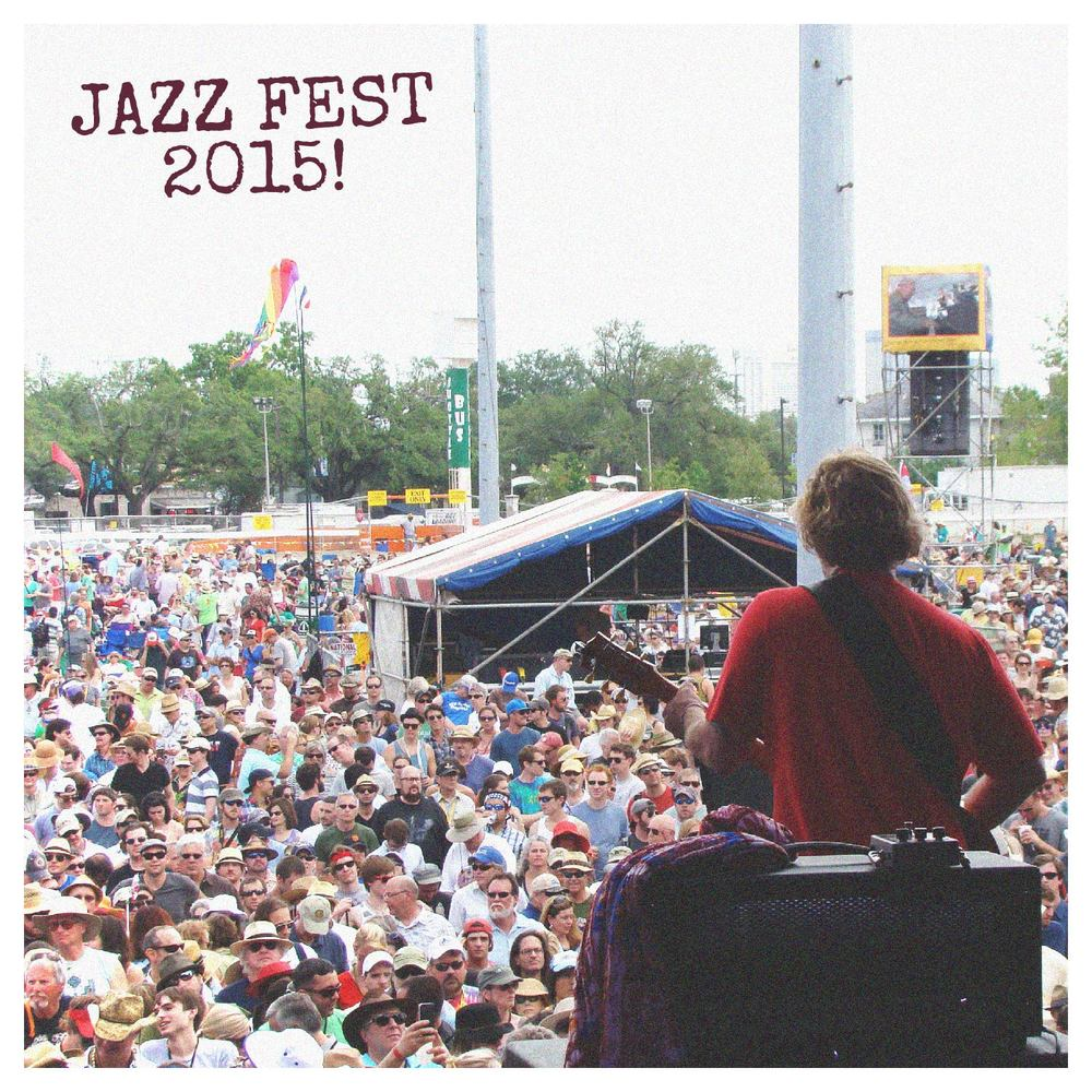 Jazz Fest is right around the corner! Make sure to mark your calendars with all of Anders' performances:  4/24 Friday - House of Blues 8PM  4/25 Saturday - Howlin' Wolf w/ Dead Feat 10PM  4/26 Sunday - Howlin' Wolf w/ Dead Feat 10PM  4/27 Monday - Tipitina's for Instruments a Comin' w/ Galactic 8PM  4/28 Tuesday - Chickie Wah Wah w/ John Fohl & Johnny Sansone 8PM & 10PM  5/01 Friday - Republic NOLA sitting in with Tab Benoit 9PM  5/02 Saturday - Howlin' Wolf 11PM  5/03 Sunday - Jazz Fest Set - Acura Stage 12:25PM  tickets for all shows  here.