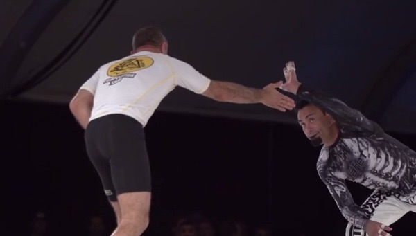 Royler Gracie and Master Eddie Bravo metamoris
