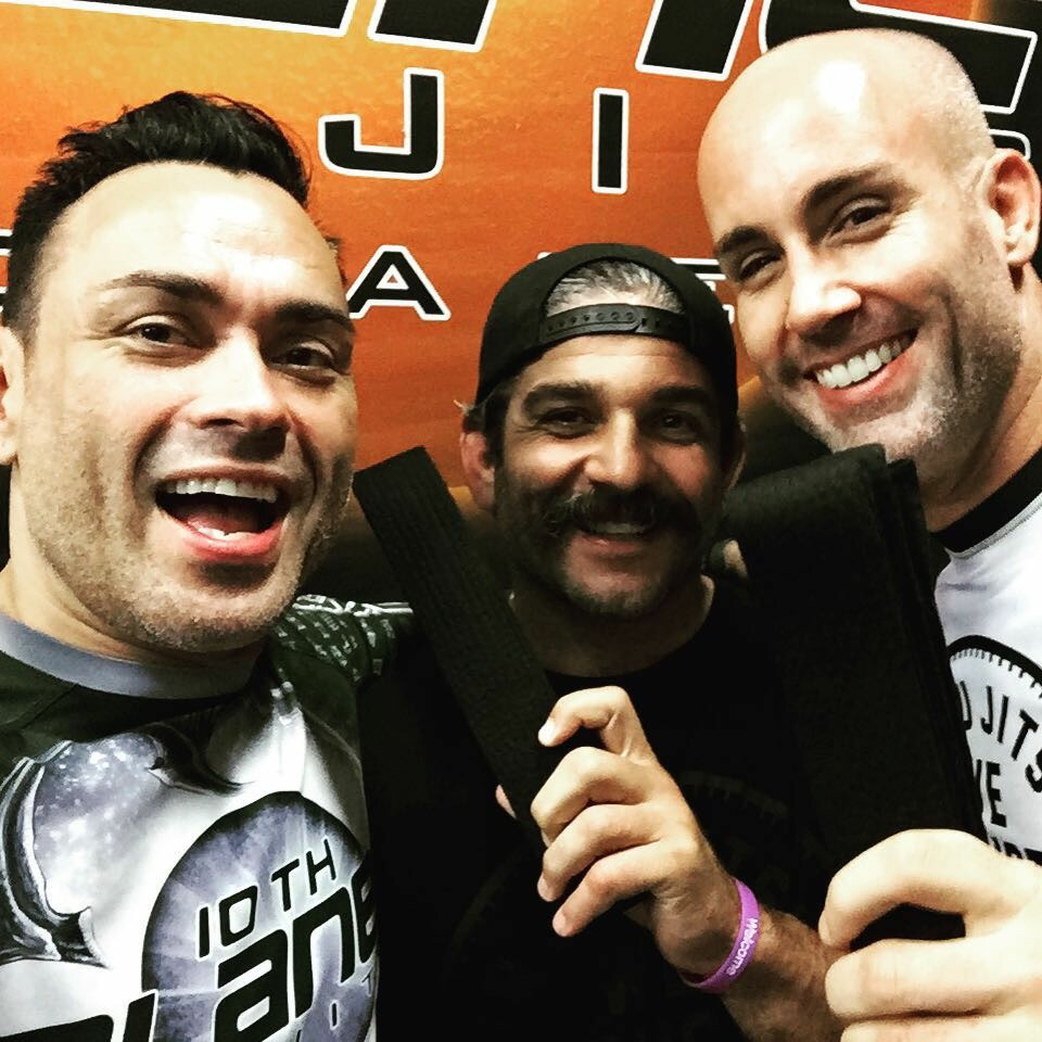 Master Eddie Bravo Casey Halstead and Ron Turner