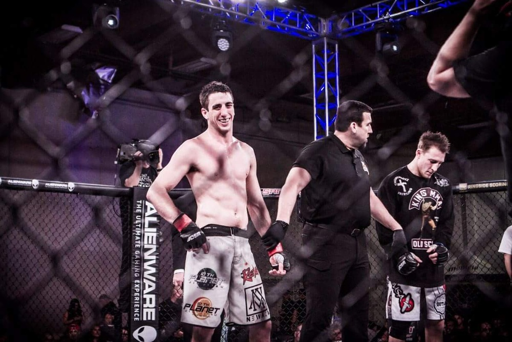Andrew Ramm with the loss WSOF